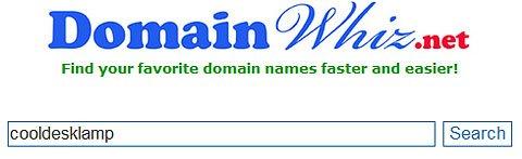 DomainWhiz Search Page