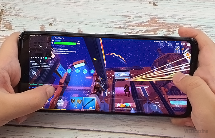 RedmiNote9S-Fortnite-Gaming