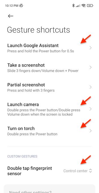 redminote10pro-fingerprint-sensor-actions